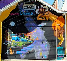 Street Art Valparaiso Chile 4 by Kurt  Van Wagner