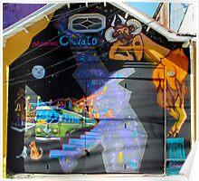 Street Art Valparaiso Chile 4 Poster