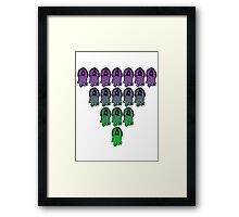 Squid Ink 1 Framed Print