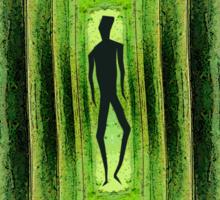 Slim Green Walker Sticker