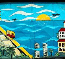 Street Art Valparaiso Chile 10 by Kurt  Van Wagner