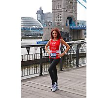 Amy Childs from the only way is Essex programme Photographic Print