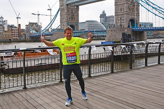 Mike Bushell at Tower Bridge by Keith Larby