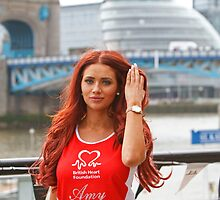 Amy Childs from the only way is Essex programme by Keith Larby