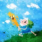 Finn and Jake by Melissa Smith