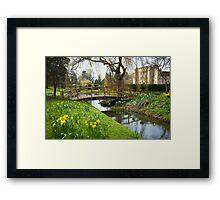 Heaver Castle in Springtime Framed Print