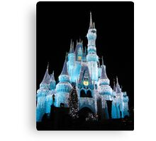 Ice Castle 2 Canvas Print