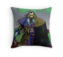 Battlemage Throw Pillow