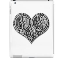 Paisley Yin Yang Heart iPad Case/Skin