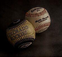 Baseballs by Andrew Pounder