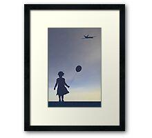 American Twilight Framed Print