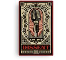 Dissent Canvas Print