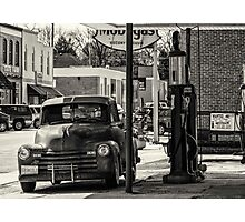 Oil-N-Gas Photographic Print