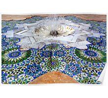 Moroccan mosaic Poster