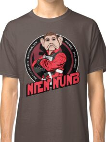 Star Wars Sullustan Smuggler Nien Nunb Crest  Classic T-Shirt