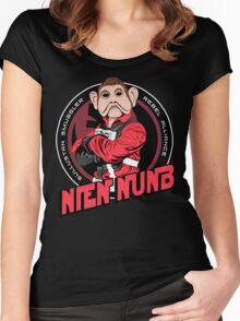Star Wars Sullustan Smuggler Nien Nunb Crest  Women's Fitted Scoop T-Shirt