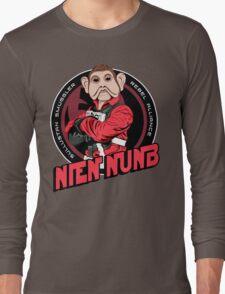 Star Wars Sullustan Smuggler Nien Nunb Crest  Long Sleeve T-Shirt
