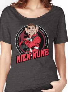 Star Wars Sullustan Smuggler Nien Nunb Crest  Women's Relaxed Fit T-Shirt