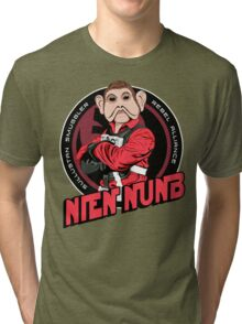 Star Wars Sullustan Smuggler Nien Nunb Crest  Tri-blend T-Shirt