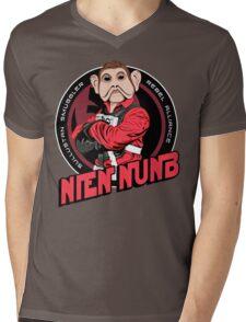 Star Wars Sullustan Smuggler Nien Nunb Crest  Mens V-Neck T-Shirt