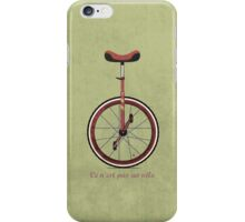 Unicycle iPhone Case/Skin