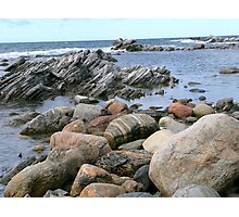 Rock Buffet Photographic Print