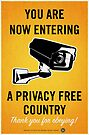 Privacy Free Country by LibertyManiacs