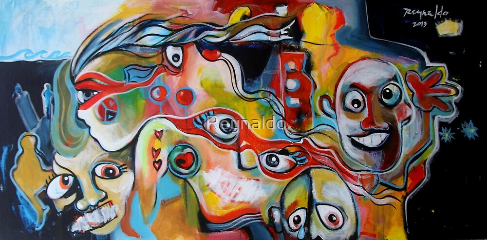 The Wind of Creativity Blows My Mind by Reynaldo