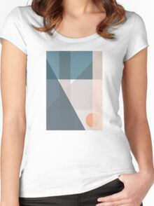 GEO COMP llll Women's Fitted Scoop T-Shirt