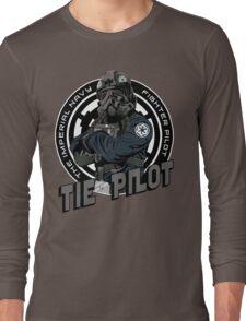TIE Pilot Crest Long Sleeve T-Shirt