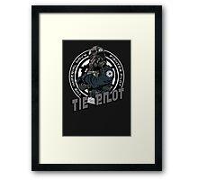 TIE Pilot Crest Framed Print