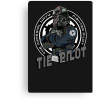 TIE Pilot Crest Canvas Print