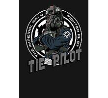 TIE Pilot Crest Photographic Print