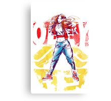Obey Jessica Canvas Print
