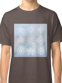 Decorative snowflakes Classic T-Shirt