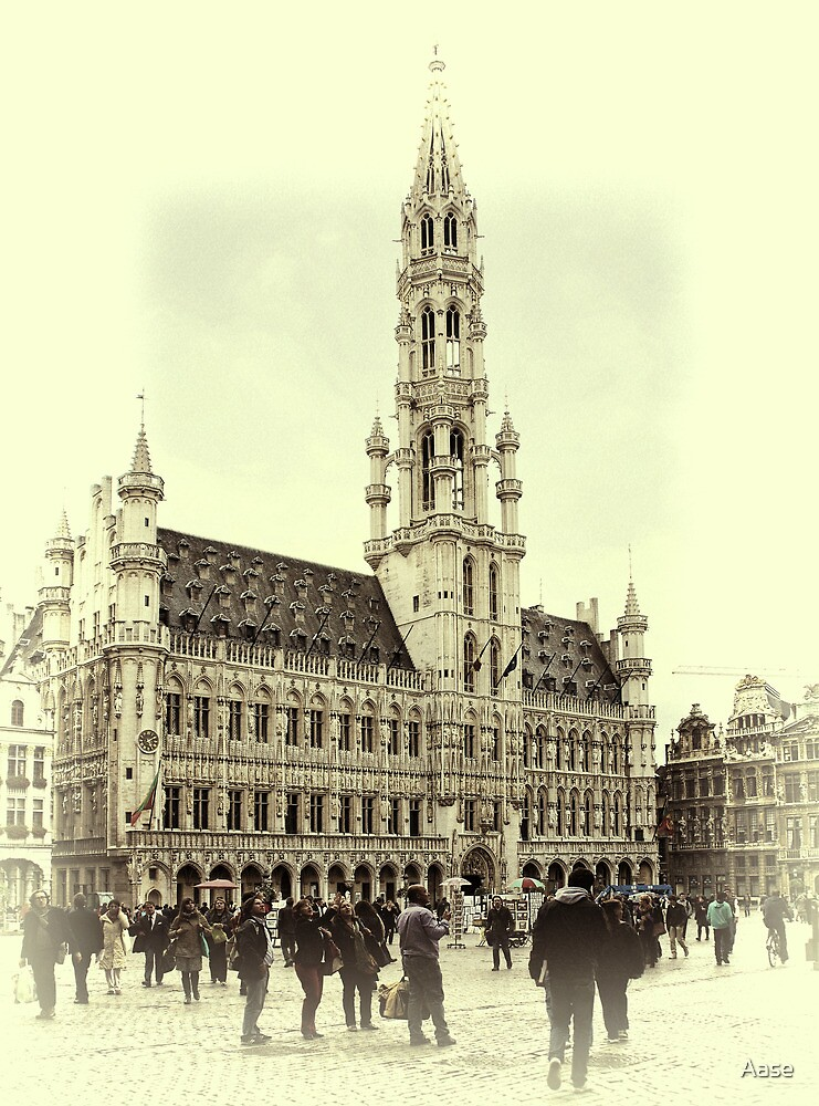Grand Place Bruxelles by Aase
