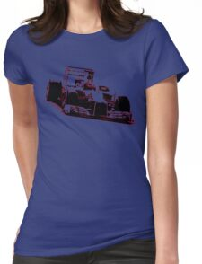 Formula One Racer Womens Fitted T-Shirt