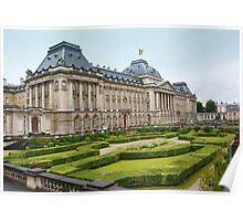 Royal Palace, Bruxelles Poster