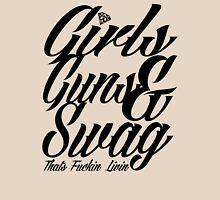 GIRLS GUNS AND SWAG Unisex T-Shirt