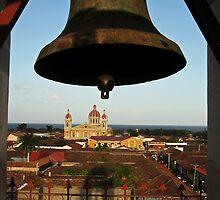 Bell Tower View, Granada, Nicaragua by Kurt  Van Wagner