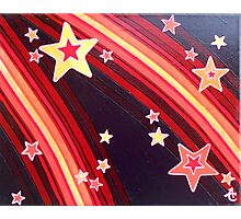 Stripes and Stars 4 Series 1 Photographic Print