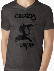 CRAZY APE Mens V-Neck T-Shirt