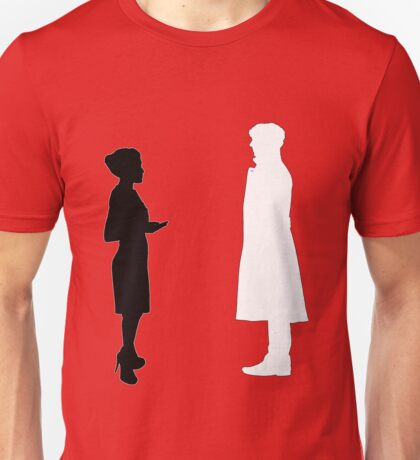 The Woman & The Detective Unisex T-Shirt