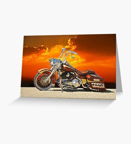 Harley-Davidson Outlaw Bagger II Greeting Card