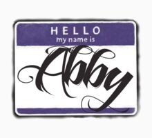 HELLO MY NAME IS ABBY by chasemarsh