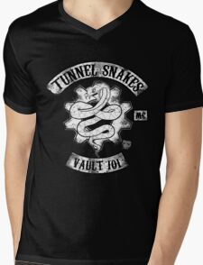 Tunnel Snakes Mens V-Neck T-Shirt