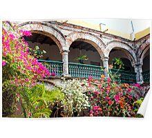 Convento de La Popa, Cartagena, Columbia Poster