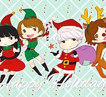 [P4] Happy Holidays - 3rd years - mint by evandrelical