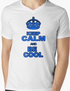 BE COOL Mens V-Neck T-Shirt