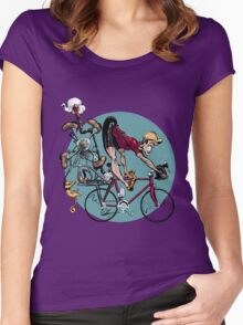 the Kicker Women's Fitted Scoop T-Shirt